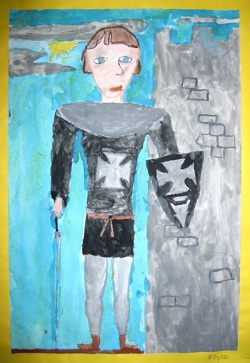 One of King Arthur's Knights.